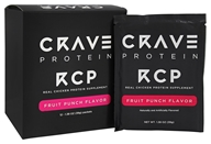 Crave Protein - RCP Real Chicken Protein Supplement Fruit Punch - 12 Packet(s)