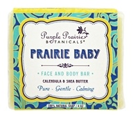 Purple Prairie Botanicals - Face and Body Bar Soap Prairie Baby - 4 oz.