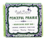 Purple Prairie Botanicals - Nourishing Body Bar Soap Peaceful Prairie - 4 oz.