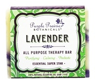 Purple Prairie Botanicals - All Purpose Therapy Bar Soap Lavender - 4 oz.