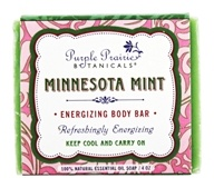 Purple Prairie Botanicals - Energizing Body Bar Soap Minnesota Mint - 4 oz.