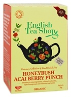 English Tea Shop - Organic Tea Honeybush Acai Berry Punch - 20 Sachet(s)
