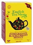 English Tea Shop - Organic Tea Pomegranate Blackcurrant Medley - 20 Sachet(s)