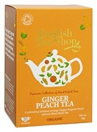 English Tea Shop - Organic Ginger Peach Tea - 20 Sachet(s)