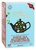 English Tea Shop - Organic White Tea Blueberry and Elderflower - 20 Sachet(s)