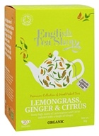 English Tea Shop - Organic Tea Lemongrass, Ginger and Citrus - 20 Sachet(s)