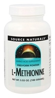 Source Naturals - L-Methionine Amino Acid Supplement - 3.53 oz.