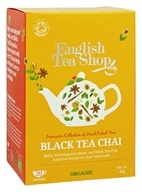 English Tea Shop - Organic Black Tea Chai - 20 Sachet(s)