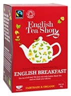 English Tea Shop - Organic English Breakfast Tea - 20 Sachet(s)