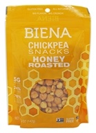 Biena - Gluten-Free Chickpea Snacks Honey Roasted - 5 oz.