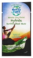 Earth Kiss - Miracle Clay Facial Hydrate Bamboo Sheet Mask Argile Clay & Baobab - 1 Mask