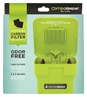 CompoKeeper - Activated Carbon Filter Replacements - 2 Pack