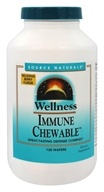 Source Naturals - Wellness Immune Chewable Delicious Berry - 120 Wafers