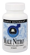 Source Naturals - Male Nitro - 30 Tablets