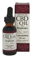 Smart Organics - Advanced CBD Oil with Terpenes 240 mg. - 1 oz.