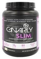 Gnarly Nutrition - Slim Whey Protein Powder Vicious Vanilla - 29.6 oz.