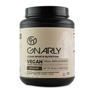 Vegan Plant Protein Meal Replacement Powder Chocolate - 28.2 oz.