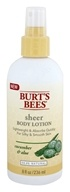 Burt's Bees - Sheer Body Lotion Cucumber & Aloe - 8 oz.