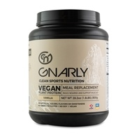 Gnarly Nutrition - Vegan Meal Replacement Powder Vicious Vanilla - 32 oz.