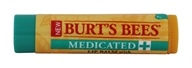 Burt's Bees - Lip Balm Medicated - 0.34 oz.