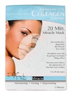 BioMiracle - 20 Minute Miracle Mask Coenzyme Q10 Collagen Essence - 5 Sheet(s)