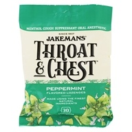 Jakemans - Throat & Chest Menthol Cough Suppressant Peppermint - 30 Lozenges