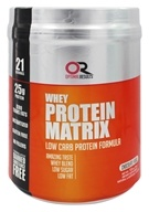 Optimal Results - Whey Protein Matrix Chocolate Fudge - 1.5 lbs.