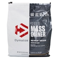 Super Mass Gainer Protein Powder Cookies & Cream - 12 lbs.