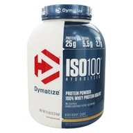 Dymatize Nutrition - ISO 100 100% Hydrolyzed Whey Protein Isolate Birthday Cake - 5 lbs.