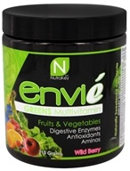 NutraKey - Envie Greens Multivitamin Wild Berry - 210 Grams