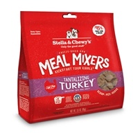 Stella & Chewy's - Freeze-Dried Dog Food Tantalizing Turkey Meal Mixers - 3.5 oz.
