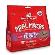 Stella & Chewy's - Freeze-Dried Dog Food Tantalizing Turkey Meal Mixers - 9 oz.