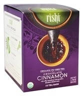 Rishi Tea - Organic Pu-erh Tea Chocolate Cinnamon - 15 Tea Bags