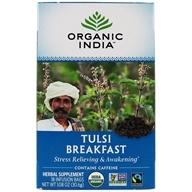 Organic India - Tulsi Tea Breakfast Tea - 18 Tea Bags