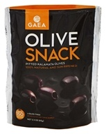 Gaea - Olive Snack 100% Natural and Sun Ripened - 2.3 oz.