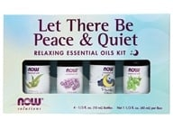 Let There Be Peace & Quiet Relaxing Essential Oils Kit - 4 Bottle(s)