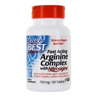 Doctor's Best - Fast Acting Arginine Complex with Nitrosignine 750 mg. - 60 Vegetarian Tablets