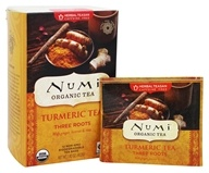 Numi Organic - Tumeric Tea Three Roots - 12 Tea Bags