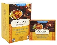 Numi Organic - Tumeric Tea Golden Tonic - 12 Tea Bags