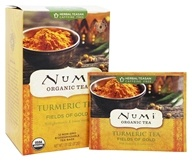 Numi Organic - Tumeric Tea Fields of Gold - 12 Tea Bags