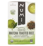 Numi Organic - Green Tea Toasted Rice - 12 Tea Bags