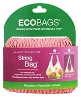 Eco-Bags - Classic String Shopping Bag Coral Rose