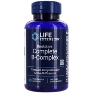 Life Extension - BioActive Complete B Complex - 60 Vegetarian Capsules