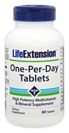 Life Extension - One-Per-Day Tablets - 60 Tablets