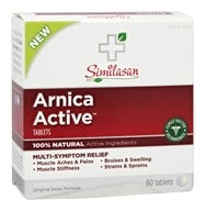 Similasan - Arnica Active Multi-Symptom Relief - 60 Tablets