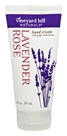 Vineyard Hill Naturals - Hand Cream with Grape Seed Extract Lavender Rose - 2 oz.