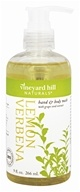 Vineyard Hill Naturals - Hand & Body Wash with Grape Seed Extract Lemon Verbena - 9 oz.