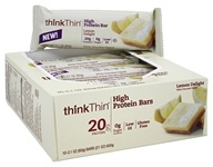 Think Products - thinkThin High Protein Bar Lemon Delight - 10 Bars