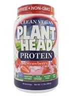 Genceutic Naturals - Plant Head Protein Strawberry - 1.7 lb.
