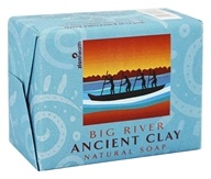 Zion Health - Organic Ancient Clay Soap Big River - 10.5 oz.